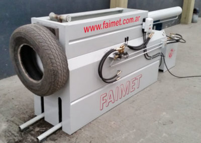 Recicladora de Neumáticos